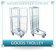 Steel Goods Trolley Australia